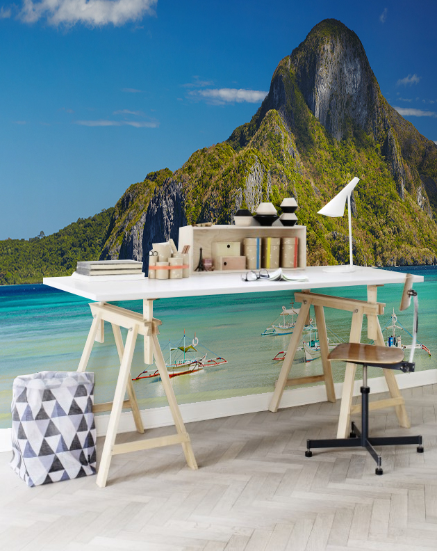 El-Nido-Bay-Wall-Mural-by-PIXERS