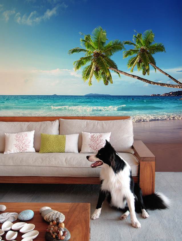 Sunset-on-Seychelles-Beach-Wall-Mural-by-PIXERS