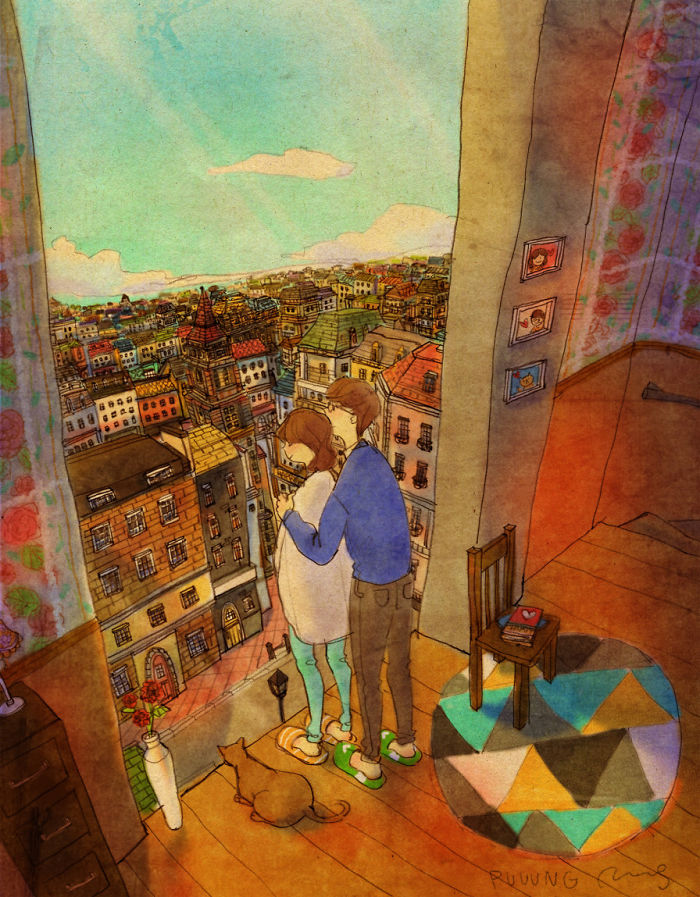 sweet-couple-love-illustrations-art-puuung-14__700