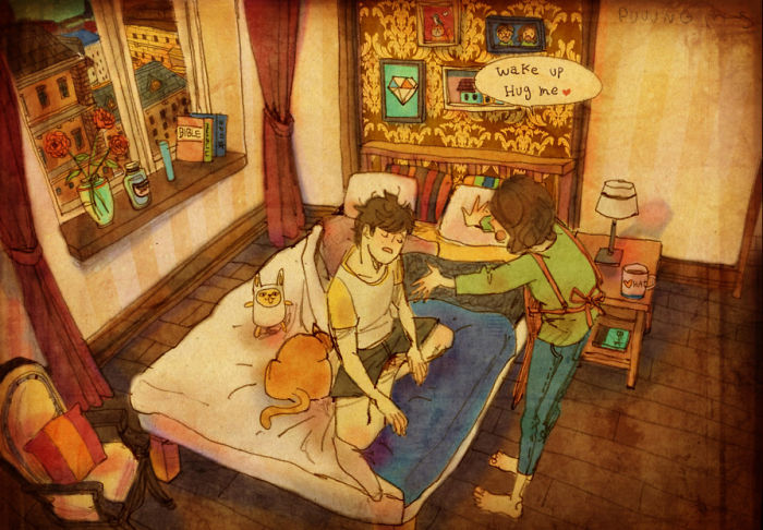sweet-couple-love-illustrations-art-puuung-35__700