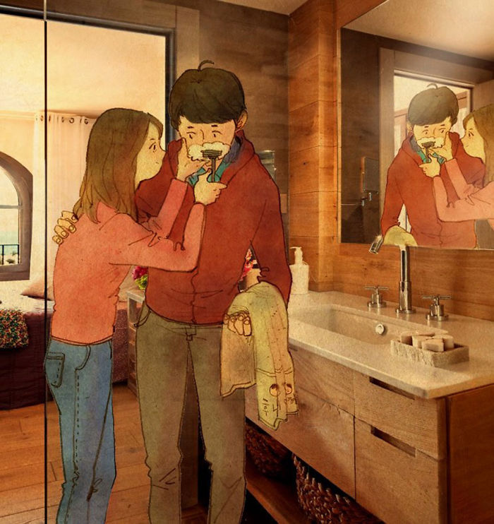 sweet-couple-love-illustrations-art-puuung-46__700